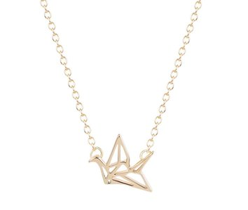 Necklace Flying Bird Gold