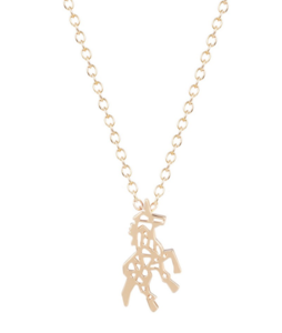 Necklace Giraffe Gold