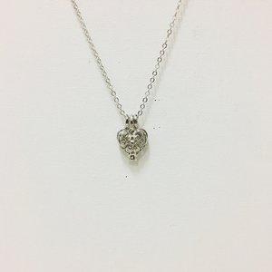 Necklace Heart of Fantasy Silver