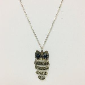 Necklace Owl Silver