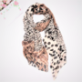 Lady Scarf Brown Leopard