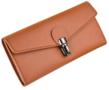 Fancy Cognac Wallet