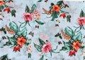 A Soft Striped Bloom Shawl